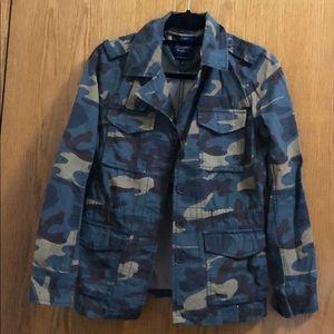 Madewell XS Camouflage Jacket
